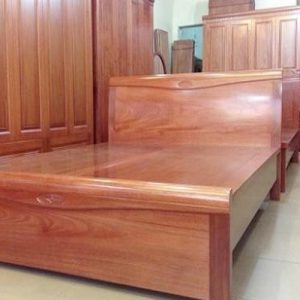 Mẫu giường ngủ đẹp giá rẻ gỗ tự nhiên tháng 11
