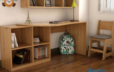 Nội thất Go Home tin rằng, kiểu dáng bàn học càng đơn giản thì càng dễ dàng giúp bé tập trung hơn trong học tập, cũng như tìm được thế ngồi học thoải mái nhất. Nếu đồng ý, bạn hãy tìm mua ngay cho bé 1 chiếc bàn học đơn giản tại đây: gotrangtri.vn. Còn […]