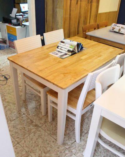 Bàn ăn 4 ghế cherry cao cấp cho phòng bếp GHT-405