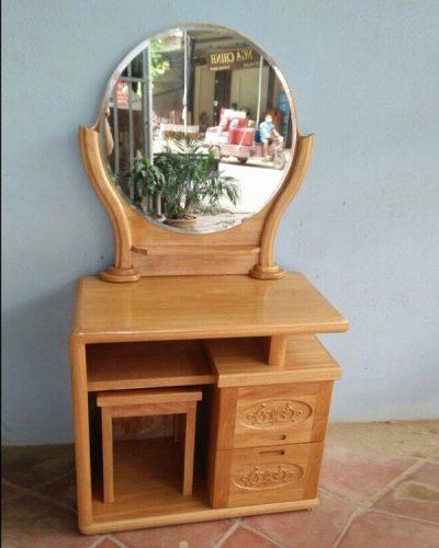 Bàn trang điểm đẹp làm từ gỗ tự nhiên giá rẻ GHT-431