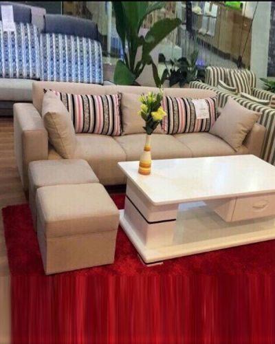 Bộ sofa đẹp bọc nỉ hiện đại dành cho gia đình GHT-819