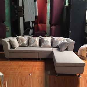 Bộ sofa góc L thiết kế theo phong cách hiện đại GHT-814