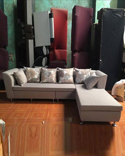 Ghế sofa góc L thiết kế theo phong cách hiện đại GHT-814