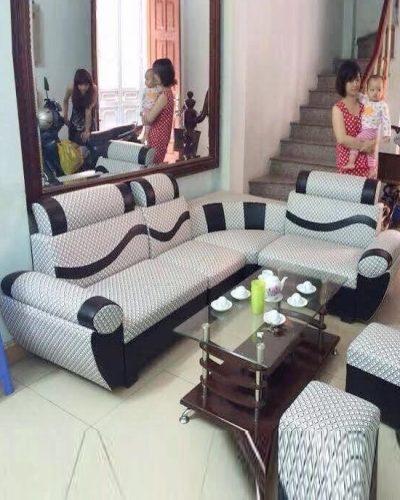 Sofa giá rẻ phòng khách khung gỗ tự nhiên GHT-802
