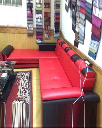 Ghế sofa góc L phong cách hiện đại bọc da GHT-811