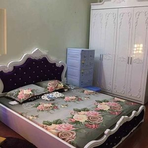 Giường ngủ đẹp phong cách Bắc Âu trang nhã GHT-901