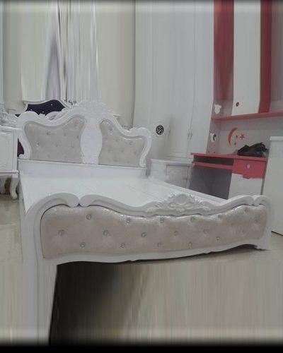 Giường ngủ gỗ phong cách Bắc Âu trang nhã GHT-913