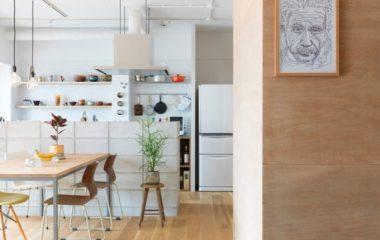 Kiến trúc sư người Nhật Bản đã cải tạo căn hộ cũ trở thành 1 tổ ấm xuất sắc dành cho gia đình mang trẻ nhỏ. Căn hộ này được Kiến trúc sư người Nhật ngoại hình riêng dành cho 1 gia đình gồm có 1 cặp vợ chồng mang một con nít lên 2 […]