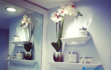 Kệ trang trí nhà tắm không phải là đồ nội thất cần thiết nhưng cũng không ít gia đình sử dụng vì nó còn giúp lưu trữ đồ dùng cần thiết. Vì vậy nếu nhà tắm hơi trống trải thì bạn có thể mua lấy 1 hoặc 2 chiếc những chiếc kệ trang trí đẹp […]