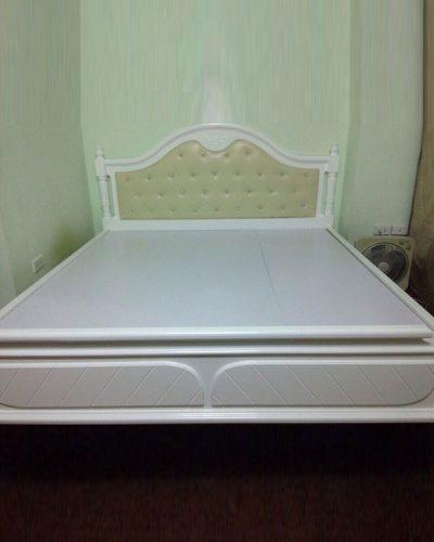 Giường ngủ gỗ phong cách Bắc Âu mã GHT-915