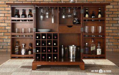 Những phòng khách được trưng bày với tủ rượu luôn mang lại sự khác biệt nhất định so với những phòng khách khác, vì nó giống như một cách thể hiện phong cách và cá tính của gia chủ một cách rõ ràng. Vì vậy bạn hãy tìm mua ngay một chiếc tủ rượu phòng […]
