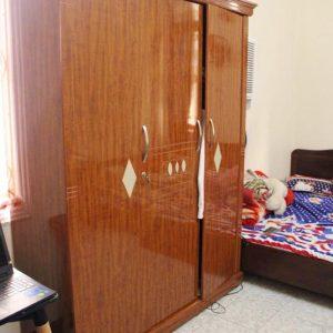 Tủ quần áo 3 khoang cánh mở gỗ công nghiệp GHT-503