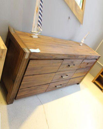 Tủ gỗ tự nhiên phong cách cổ điển GHT-535, đồ gỗ la thành