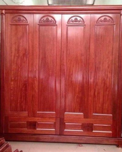 12 mẫu tủ quần áo gỗ tự nhiên Đẹp nhất chợ 2016 GHT-546