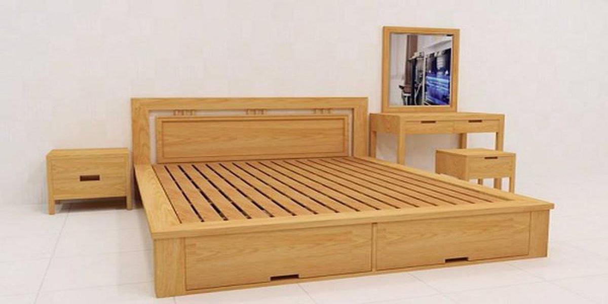 Báo giá giường gỗ hiện đại của Gỗ La Thành