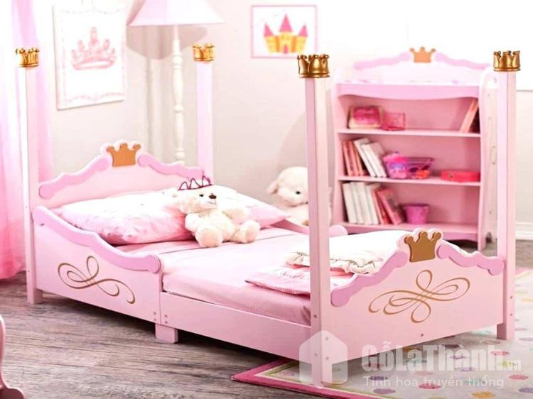 Giường ngủ công chúa cho bé