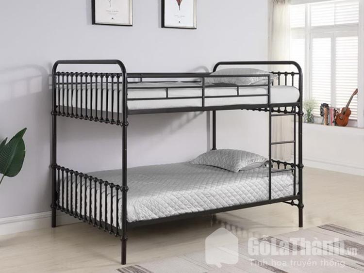 giường tầng khung sắt
