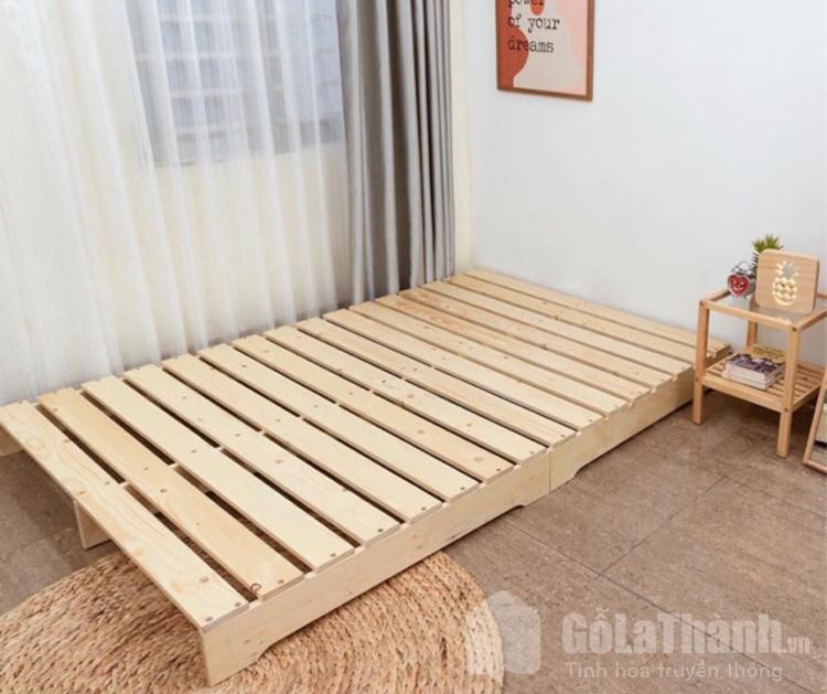 giá giường đơn pallet