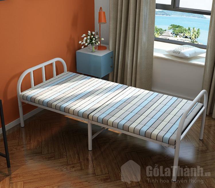 giường gấp khung sắt