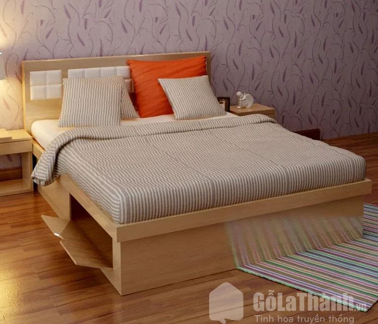 giá giường gỗ công nghiệp