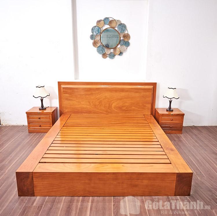 giá giường gỗ gõ đỏ nam phi