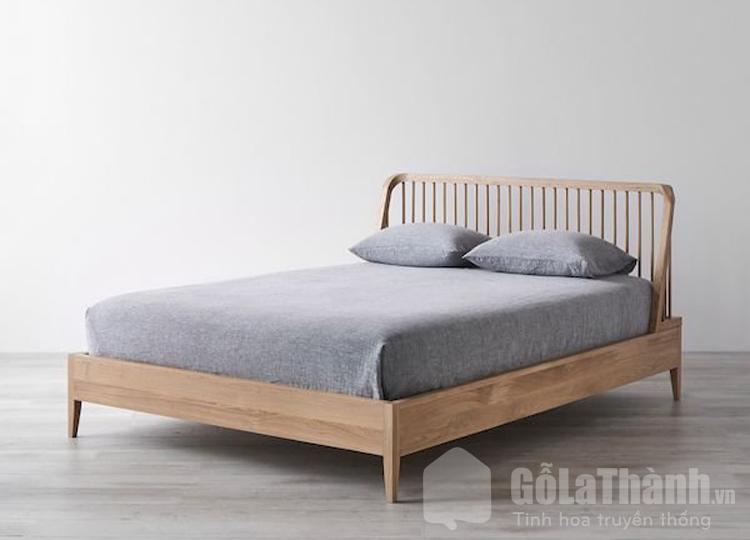 giường ngủ bằng gỗ