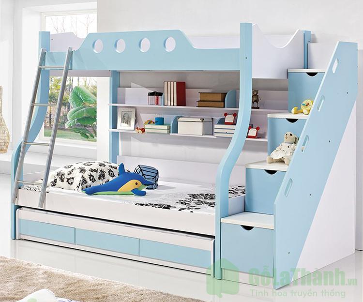 giá giường nhựa 2 tầng