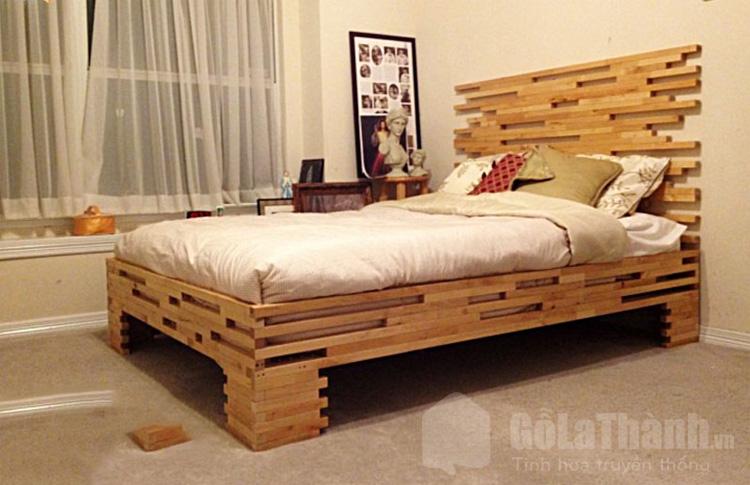 giường pallet thiết kế độc đáo