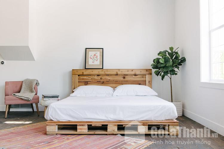 giá giường pallet gỗ
