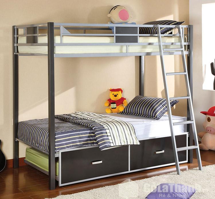 giá giường sắt 2 tầng