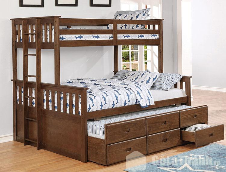 giá giường tầng gỗ