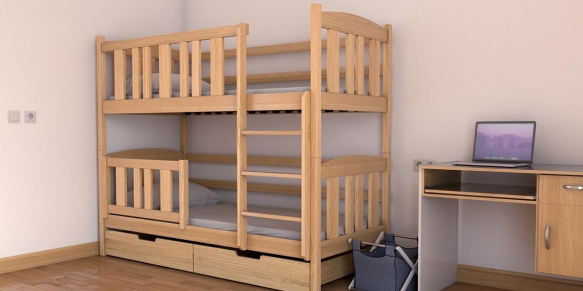 Giá giường tầng gỗ tự nhiên các loại chuẩn nhất hiện nay