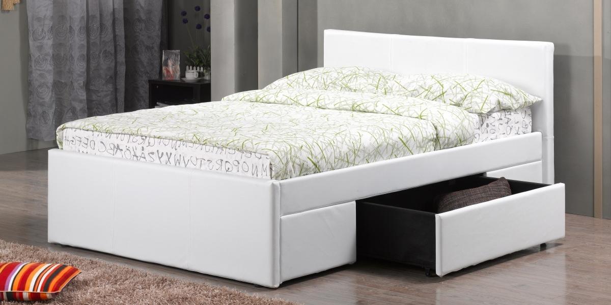 Giường 1m2 có ngăn kéo – giải pháp tối ưu cho phòng ngủ nhỏ