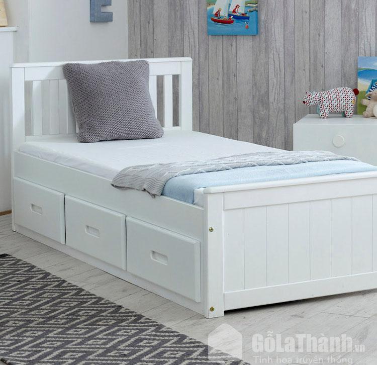 giường 1m2 có ngăn kéo