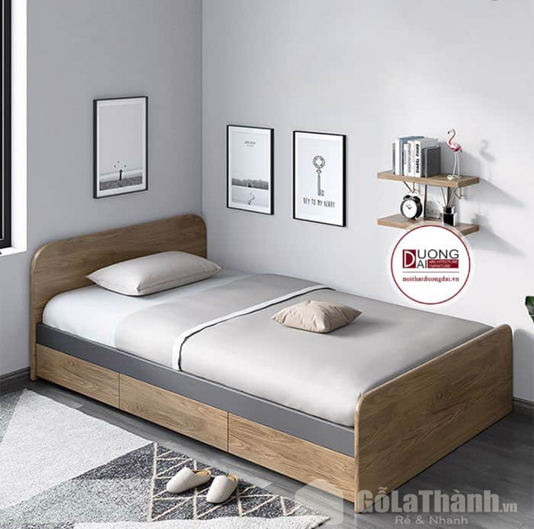 giường 1m4 có hộc