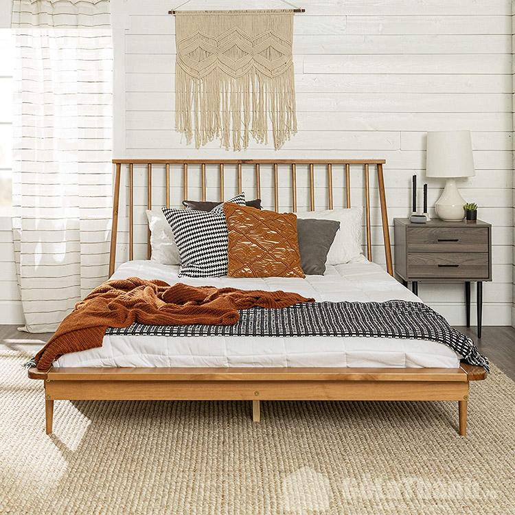 giường ngủ cao cấp gỗ tự nhiên