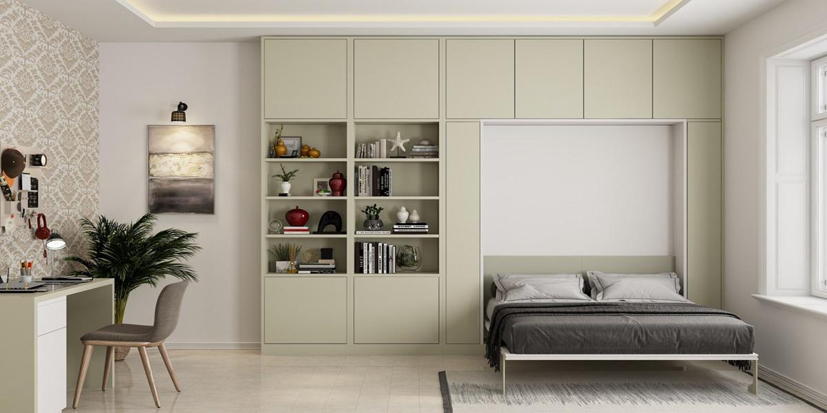 Giường gấp cao cấp làm bằng những chất liệu phổ biến nào?
