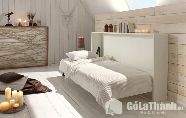 giường gấp đơn ẩn tường