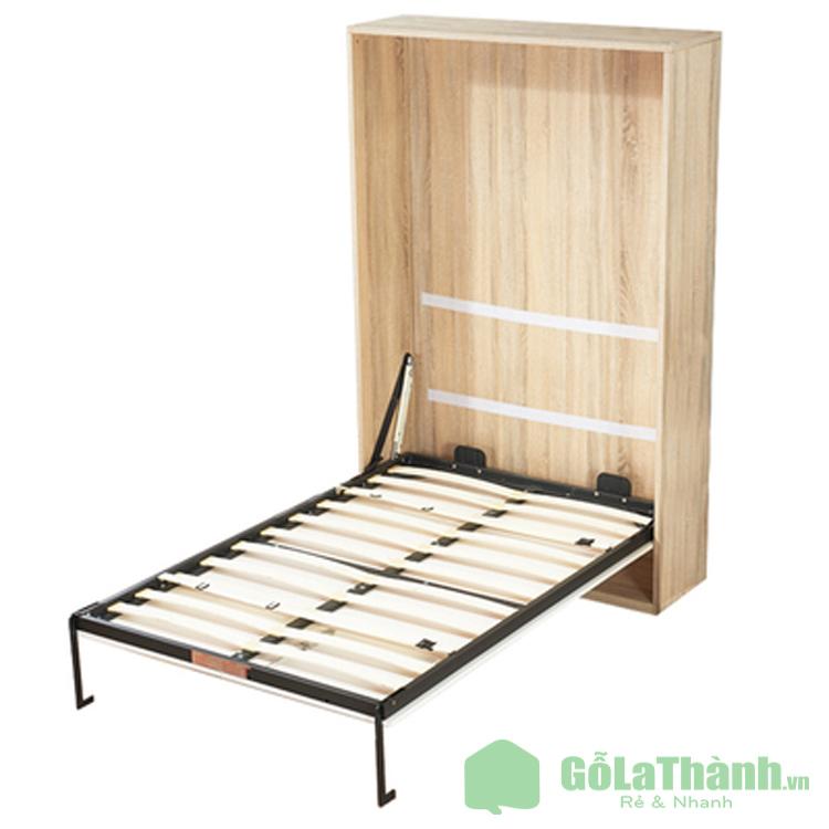 thiết kế giường gấp dọc