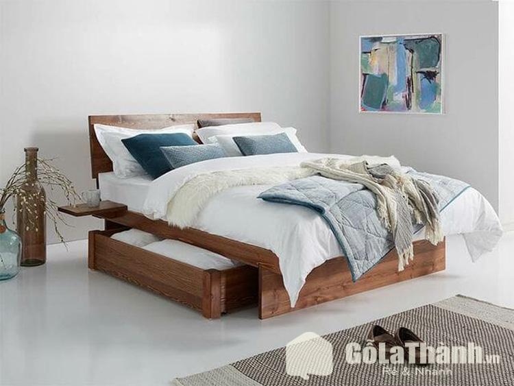giường hộc kéo kiểu nhật