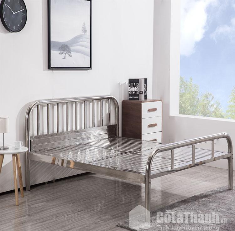 giường inox 1m2