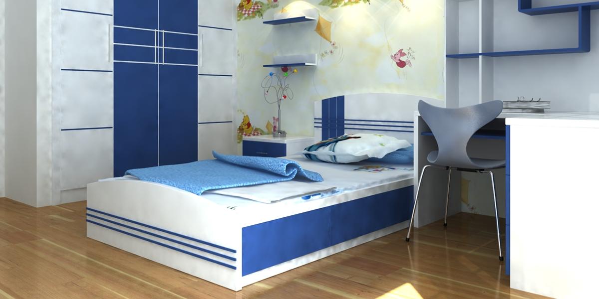 giường ngủ bằng nhựa