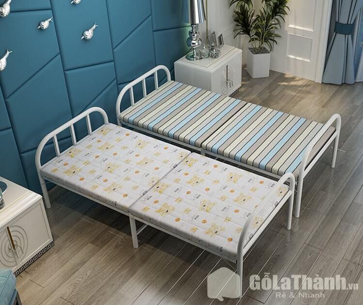 giường ngủ gấp bằng sắt nhỏ gọn