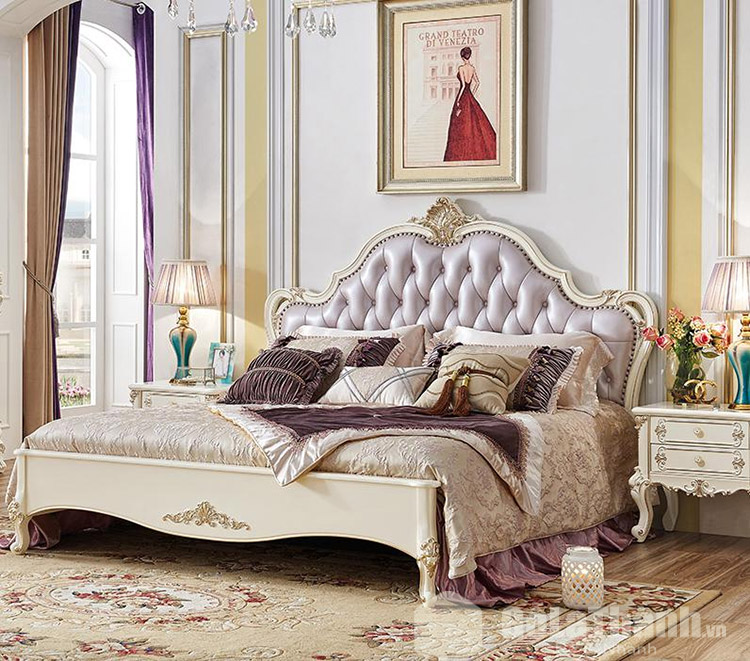 giường ngủ gỗ cao cấp