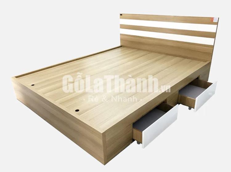 giường ngủ hiện đại có ngăn kéo