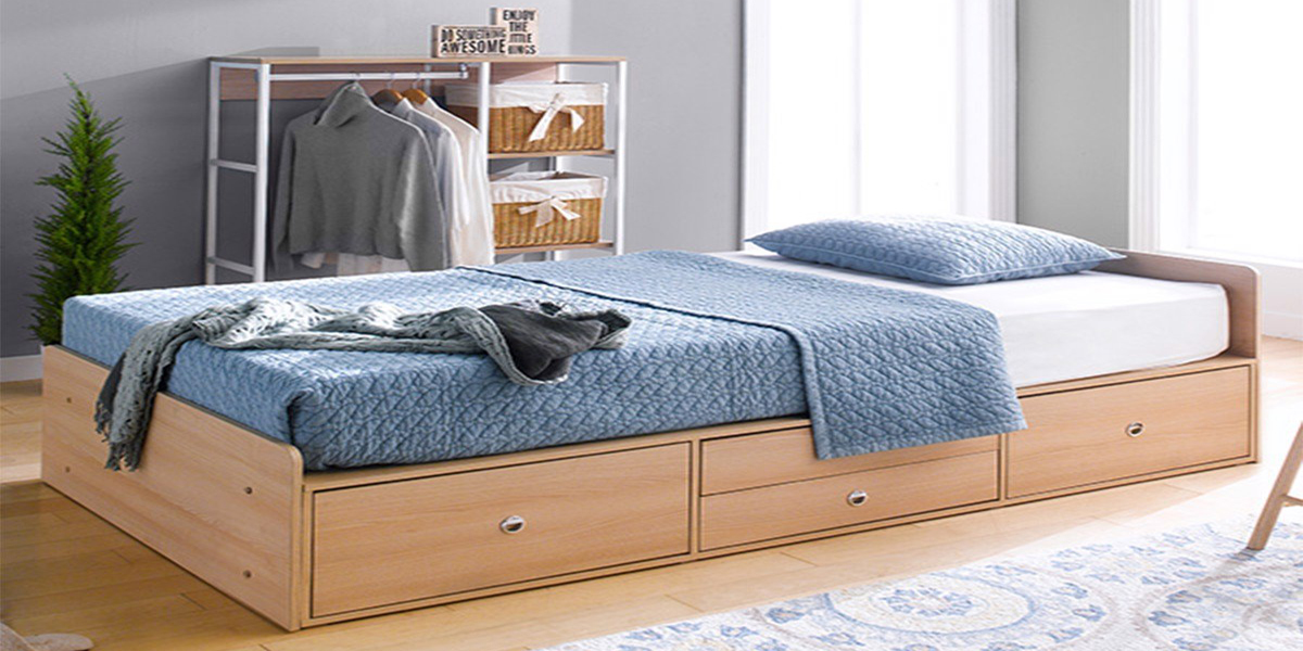 Giường ngủ hiện đại có ngăn kéo và một số mẫu không thể bỏ qua
