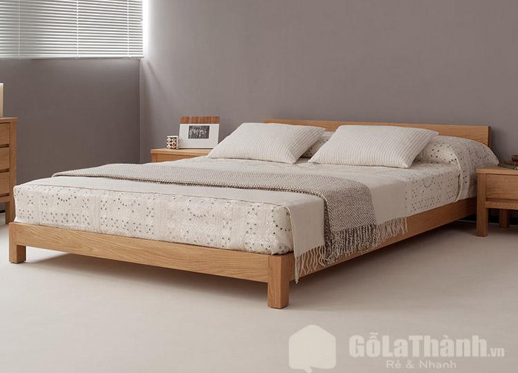giường ngủ thấp cận sàn