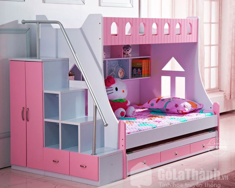 giường nhựa trẻ em