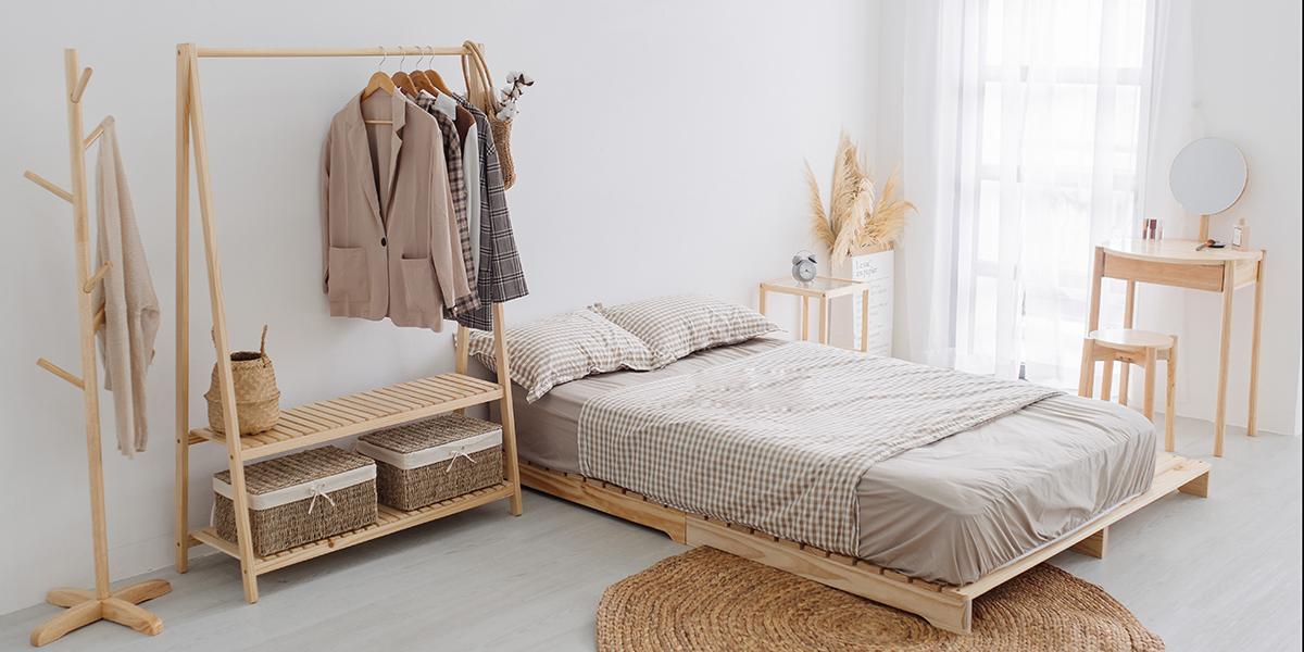 Giải đáp thắc mắc có nên sử dụng giường pallet 1m2 không?