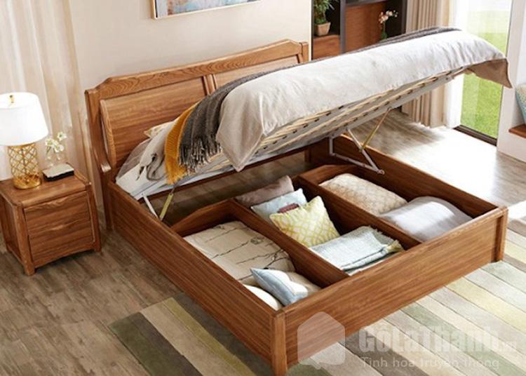thiết kế nâng hạ mặt giường